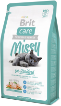 Корм для кошек Brit Care Cat Missy for Sterilised, 2 кг