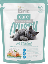 Корм для кошек Brit Care Cat Missy for Sterilised, 400 г