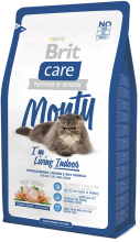 Корм для кошек Brit Care Cat Monty I am Living Indoor, 2 кг