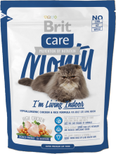 Корм для кошек Brit Care Cat Monty I am Living Indoor, 400 г
