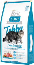 Корм для кошек Brit Care Cat Tobby I'm a Large Cat, 7 кг