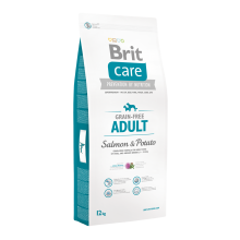 Корм для собак Brit Care Grain-free Adult Salmon & Potato, 12 кг