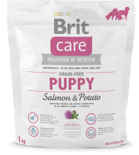 Корм для собак Brit Care Grain-free Puppy Salmon & Potato, 1 кг
