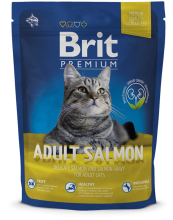 Корм для котов Brit Premium Cat Adult Salmon 300 г