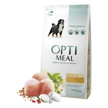 Корм для собак Optimeal Dog Adult Maxi, 1,5 кг